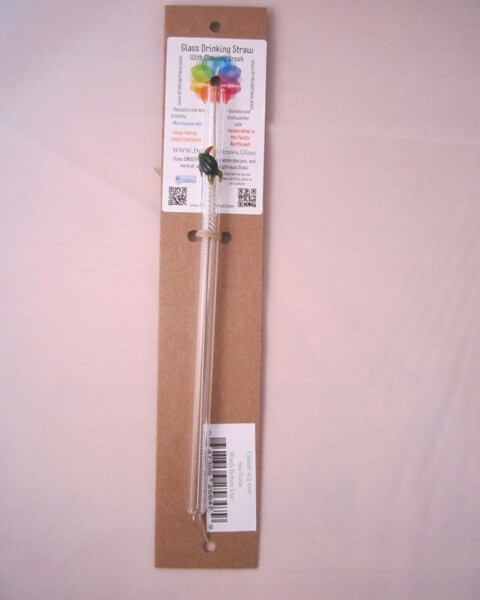packaged sea turtle glass straw